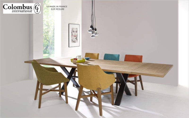 Meubles COLOMBUS Rechteckiger Esstisch Esstische Tisch  |