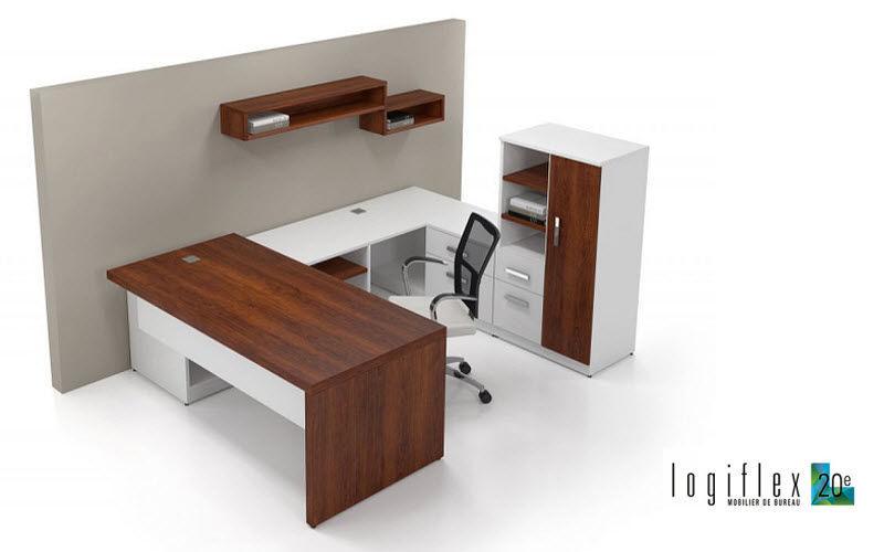 LOGIFLEX Schreibtisch Büroräume Schreibtische & Tische Büro  |