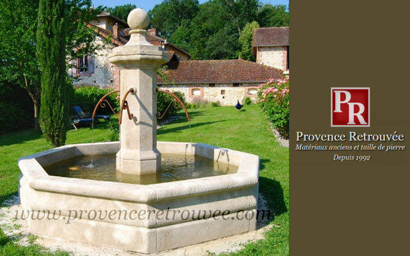 Provence Retrouvee Springbrunnen Brunnen  Blumenkasten & Töpfe   