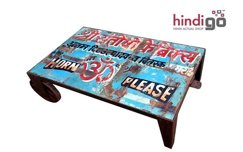 HINDIGO Rechteckiger Couchtisch Couchtische Tisch  | Unkonventionell