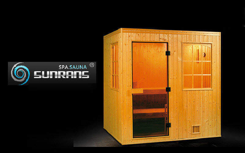 SUNRANS Sauna Sauna & Dampfbad Bad Sanitär  |