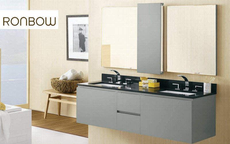 RONBOW Doppelwaschtisch Möbel Badezimmermöbel Bad Sanitär  |