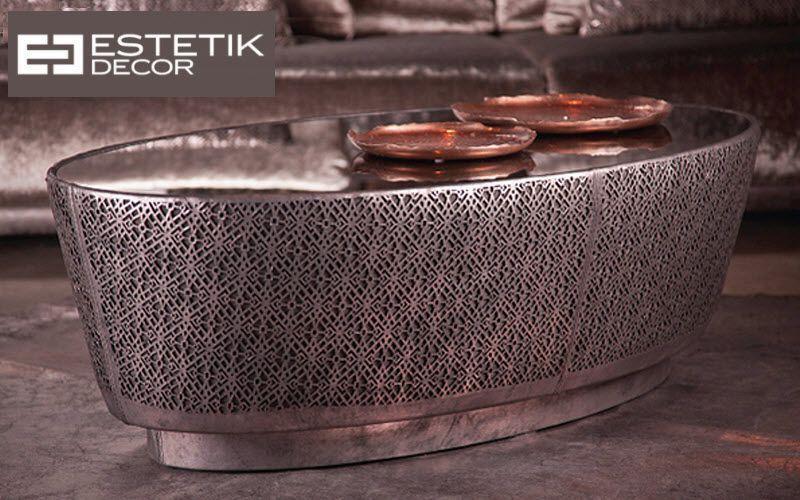 Estetik Decor Couchtisch ovale Couchtische Tisch  |