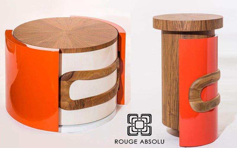 ROUGE ABSOLU Runder Couchtisch Couchtische Tisch  |