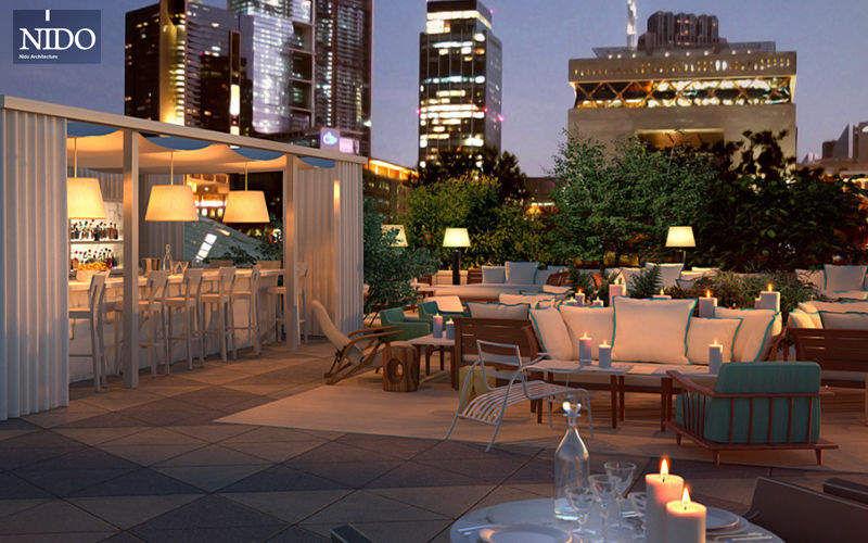 NIDO Architektenentwurf bars restaurants Innenarchitektenprojekte Häuser  |