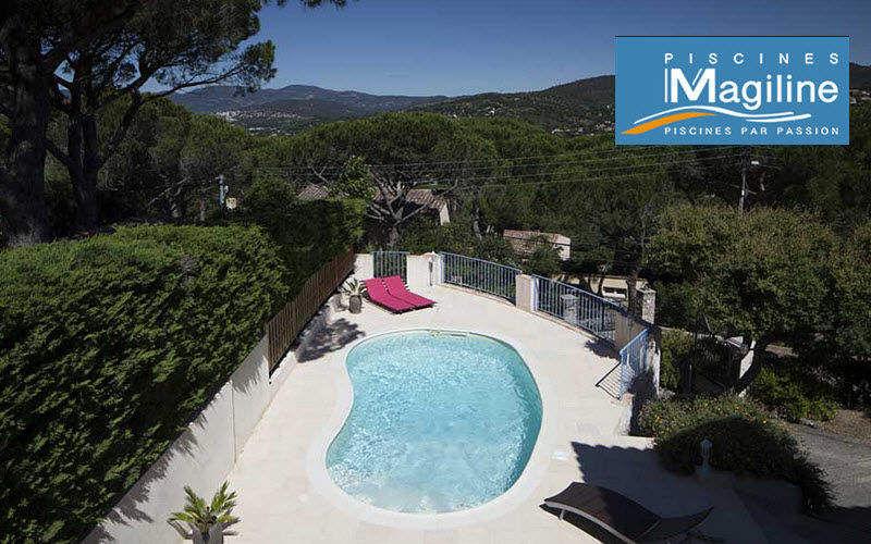 Piscines Magiline Traditioneller Swimmingpool Schwimmbecken Schwimmbad & Spa  |
