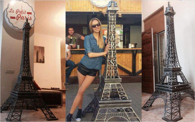 FRENCH KONNECTION Eiffelturm Verschiedene Artikel zum Verschönern Verzierung  |