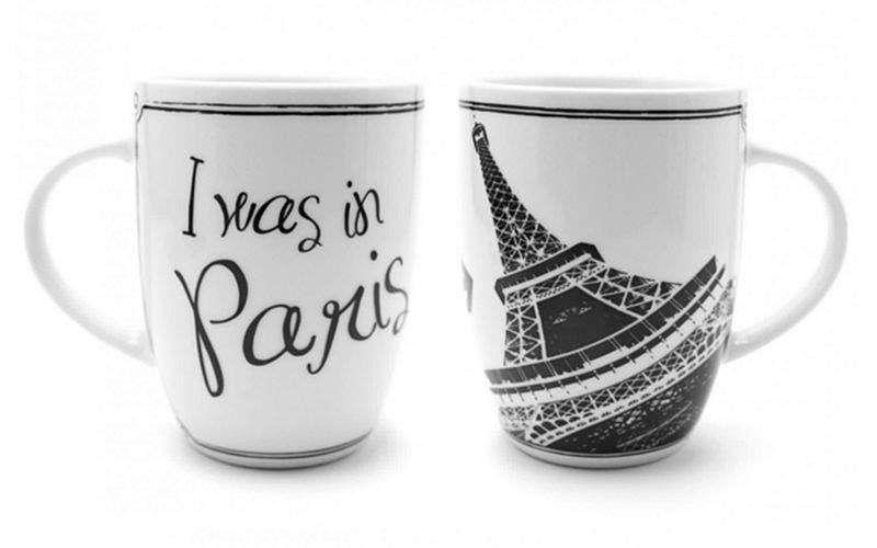 I WAS IN Mug Tassen Geschirr  |