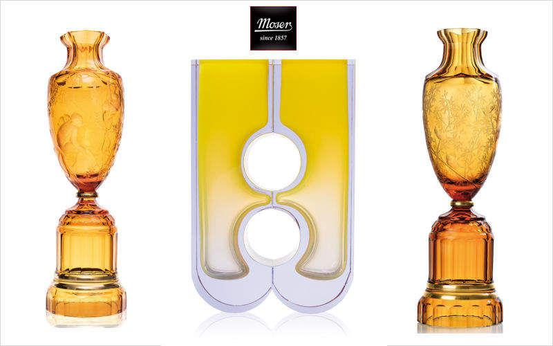 Moser Ziervase Dekorative Vase Dekorative Gegenstände  |
