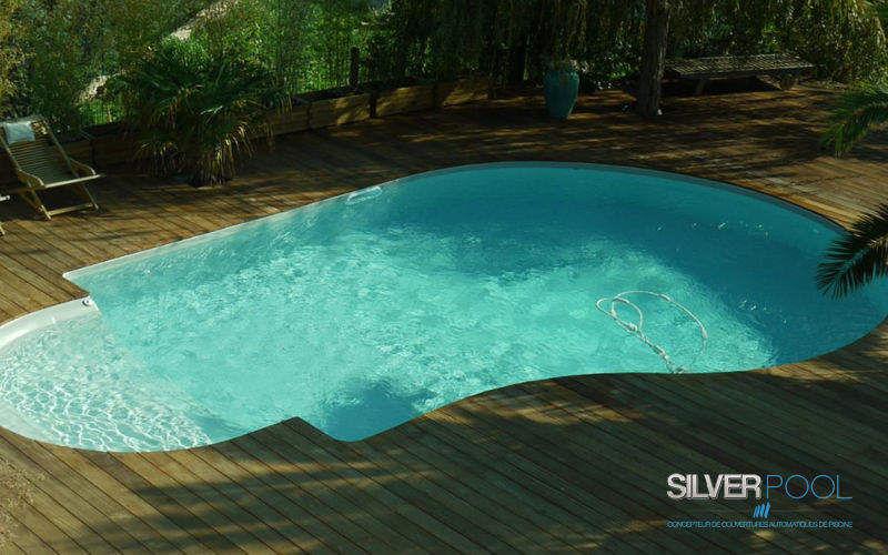 Silver Pool Traditioneller Swimmingpool Schwimmbecken Schwimmbad & Spa  |