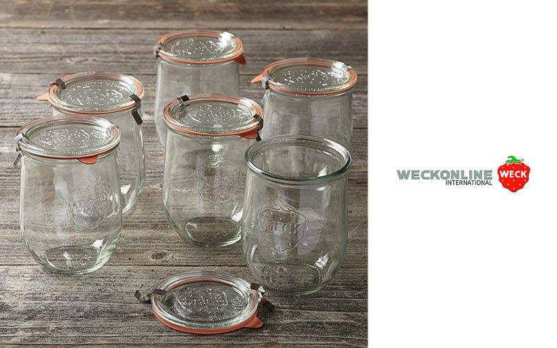 WECK Konservierungsglas Aufbewahrung (Dosen-Töpfe-Gläser) Küchenaccessoires  |