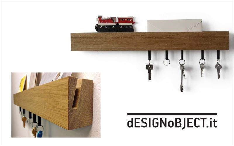 DESIGNOBJECT.it Schlüsselbrett Schlüssel Garderobe  |