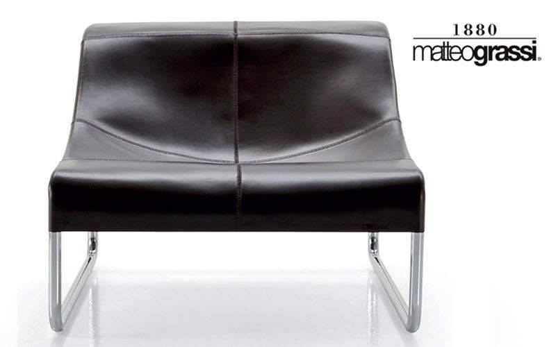 Matteograssi Niederer Sessel Sessel Sitze & Sofas Wohnzimmer-Bar |