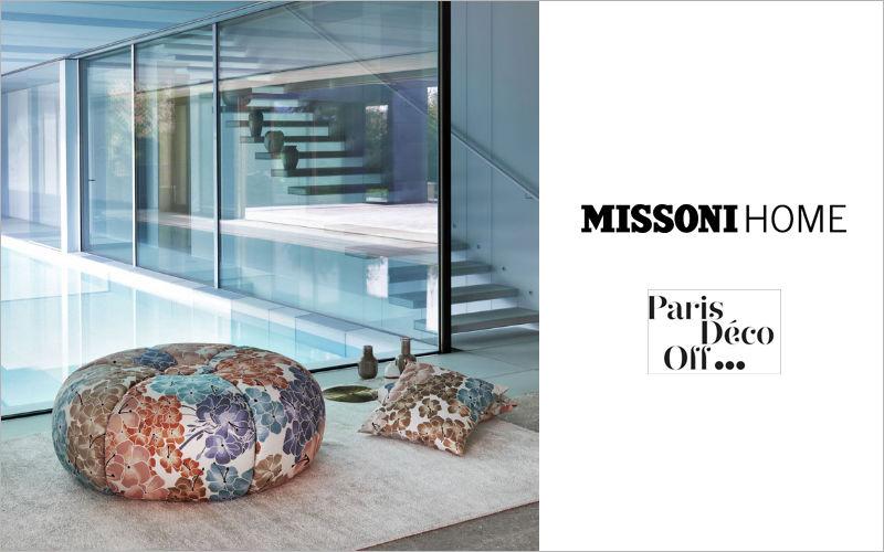 Missoni Home Bodenkissen Schemel und Beinauflage Sitze & Sofas  |