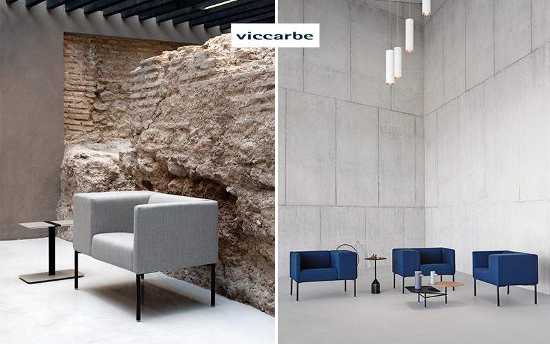 VICCARBE Stuhl mit Armlehne Bürostühle Büro  |