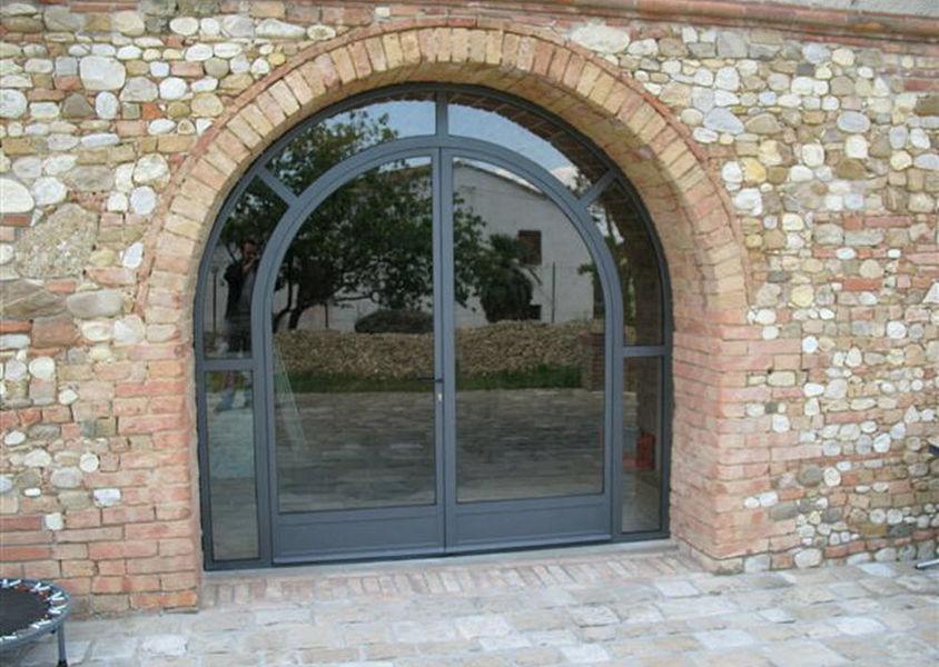 VICIANI Glasfensterfront Balkon-/Terrassentüren Fenster & Türen  |