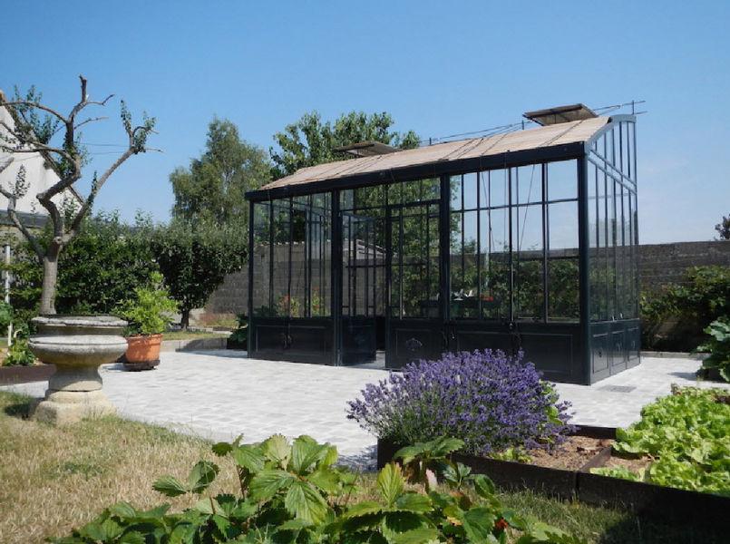 Serres et Ferronneries d'Antan Gewächshaus Gewächshäuser Gartenhäuser, Gartentore... Garten-Pool | Design Modern