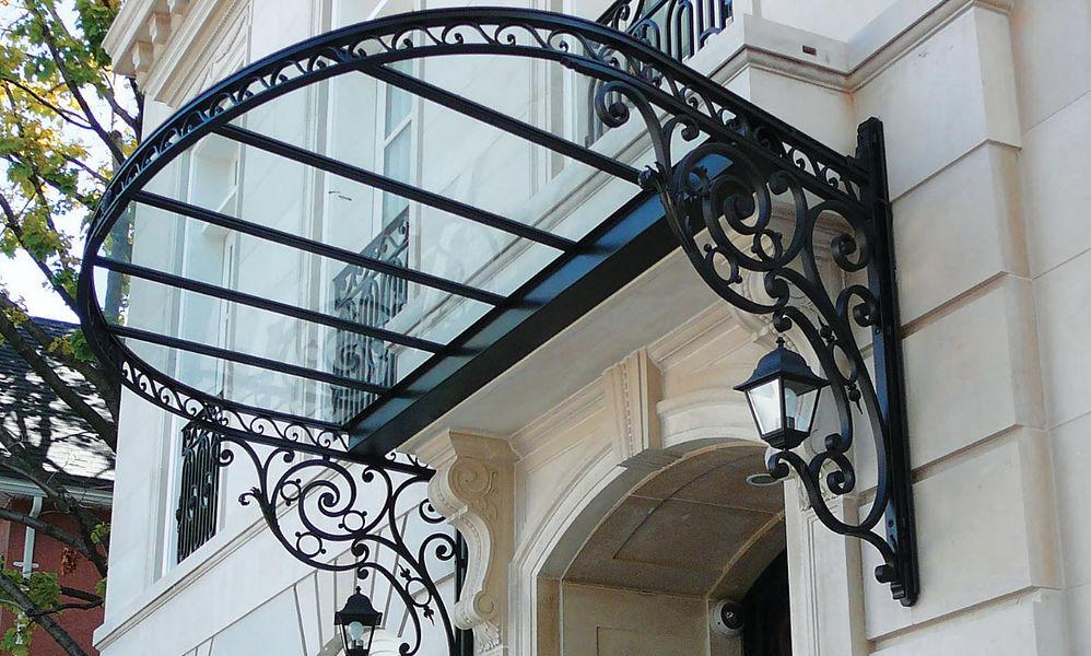 Dunod-Mallier Eingangsvordach Vordächer und Markisen Fenster & Türen  |