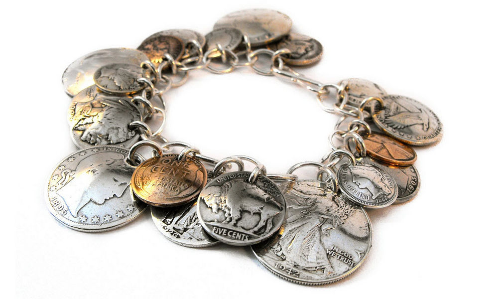 Made From Coins Armband Schmuck Sonstiges  |