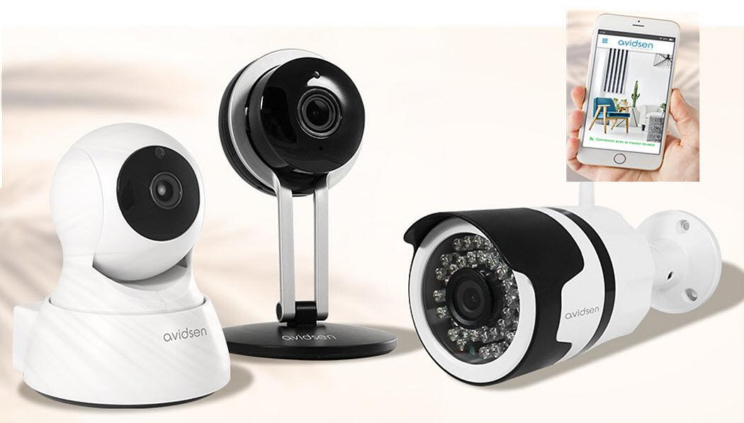AVIDSEN Sicherheits Kamera Sprechanlagen und Videoüberwachung Heimelektronik  |