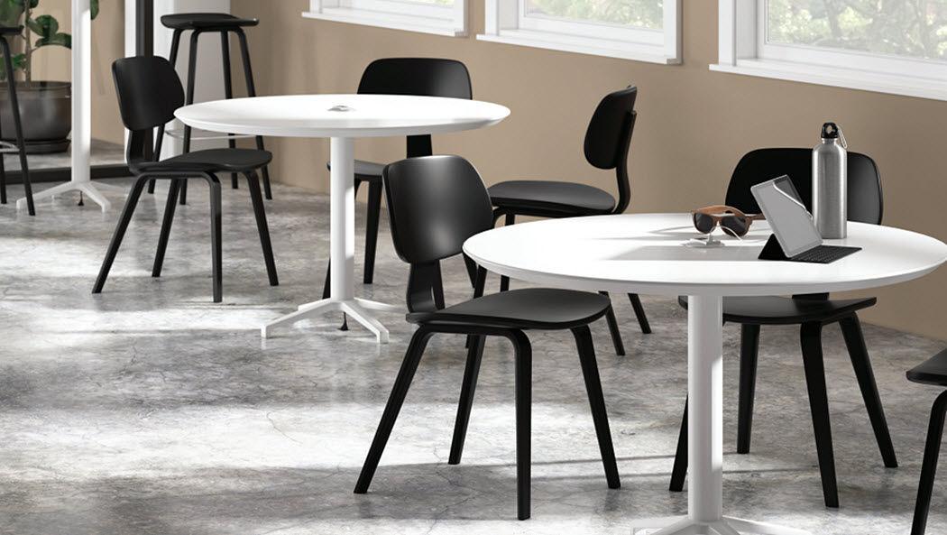 Falcon products Runder Esstisch Esstische Tisch  |