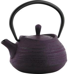 Aubry-Gaspard - théière en fonte violette 0,4 litres - Teekanne