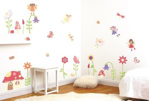 Funtosee - kit de stickers le jardin enchanté - Kinderklebdekor