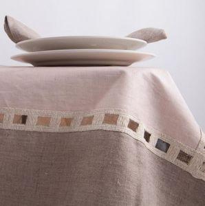 BORGO DELLE TOVAGLIE - pink talc - Rechteckige Tischdecke