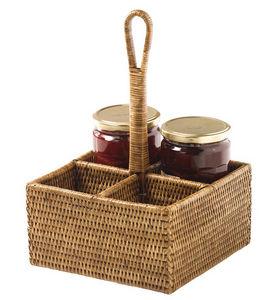 Rotin Et Osier Halter für Marmeladengläser