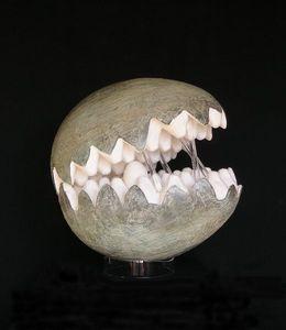 Miroirs et trumeaux Daniel Mourre - machoire - Skulptur