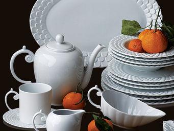 L'OBJET - aegean white dinnerware - Flache Teller
