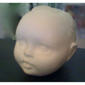 CITIZEN BIO - coffret d'une tête de poupon - sculpture parfumée - Seife