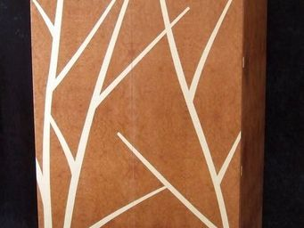 DAAN KOERS - armoirette bouleaux sur fond de brume - Kleiner Schrank