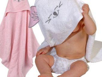 SIRETEX - SENSEI - cape de bain en forme de souris rose - Badecape