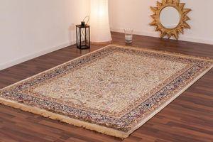 NAZAR - tapis kashmir 70x140 ivory - Traditioneller Teppich