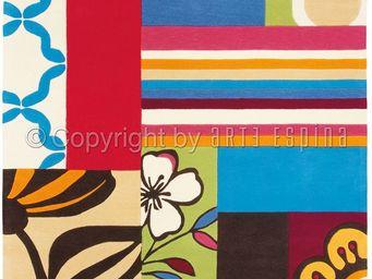 Arte Espina - tapis design blue match - Moderner Teppich