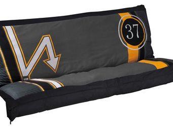 Futon Design - matelas-futon + 2 manchettes minio - Schlafcouch Matratze