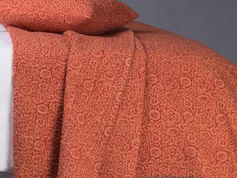 BLANC D'IVOIRE - elisa mandarine - Bettüberwurf