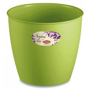 Stefanplast - lot de 3 cache-pots ou pots de fleurs ronds 2.2 l - Übertopf