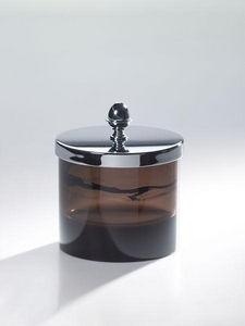 Cristal Et Bronze - obsidienne - Wattebauschtopf