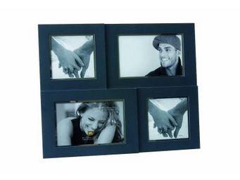 Present Time - cadre photo collage 4 seasons gris - Fotorahmen