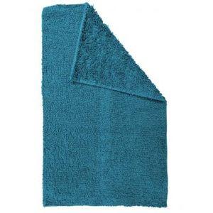TODAY - tapis salle de bain reversible - couleur - bleu - Badematte
