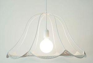 CHRISTINE HECHINGER - crochet blanc - Deckenlampe Hängelampe