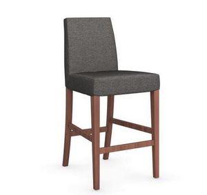 Calligaris - chaise de bar latina de calligaris couleur grège e - Barstuhl