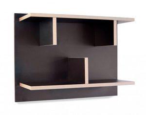 TemaHome - temahome bern étagère murale noire en finition ply - Regal