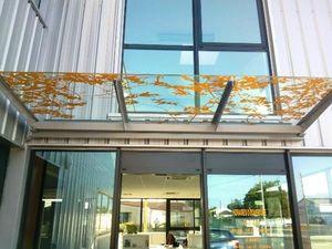 MACOCCO VITRAGES -  - Eingangsvordach