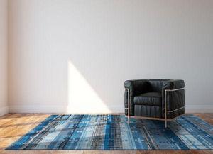 Louis De Poortere - blue avenue - Moderner Teppich