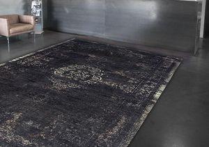 Louis De Poortere - mineral black 8263 - Moderner Teppich