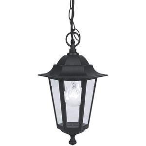 Eglo - laterna - suspension d'extérieur noir h90cm | lum - Deckenlampe Hängelampe