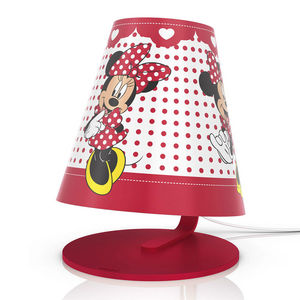 Philips - disney - lampe de chevet led minnie mouse h24cm |  - Kinder Tischlampe